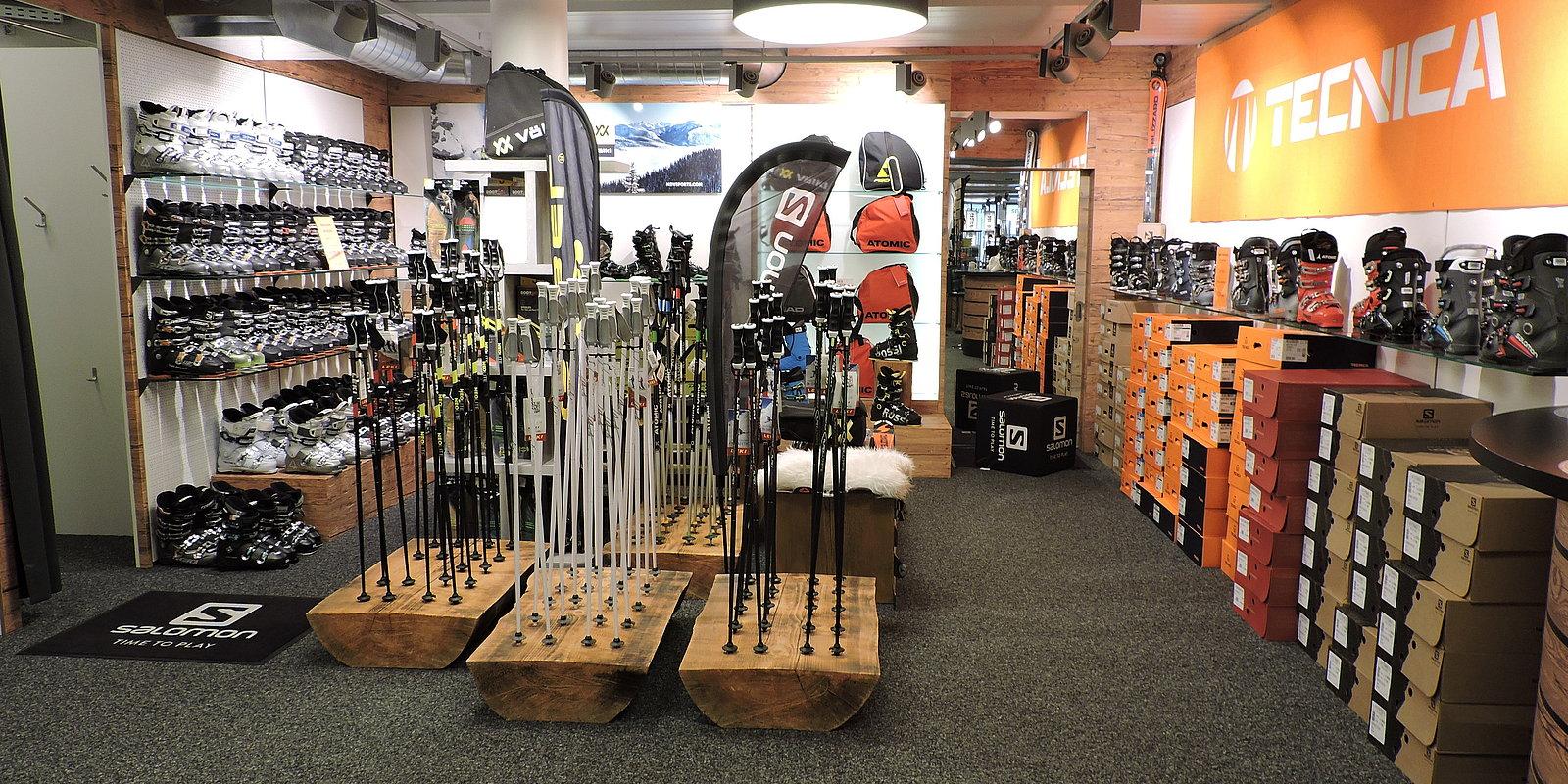 Der Fachhandel für den Wintersport - Skiverleih Hochzillertal