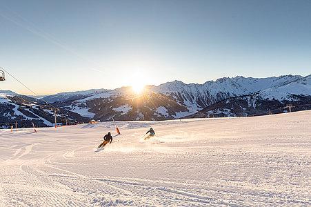 Skifahren Sonnenaufgang Gerlos | © Zillertal Arena