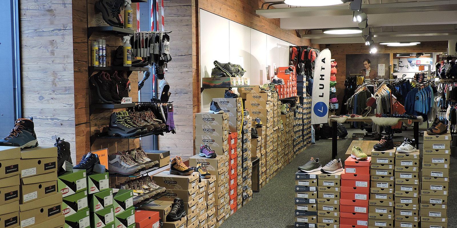 Sportshop im Skiverleih Hochzillertal | Stumm